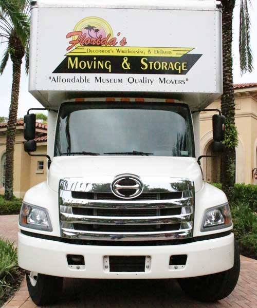 Florida's Decorator's Warehousing & Delivery Commercial Moving